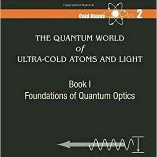 (全新免運)The Quantum World of Ultra-Cold Atoms and Light Book I: Foundations of Quantum Optics