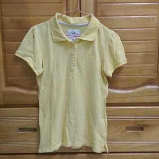 lative女Polo衫(鵝黃)