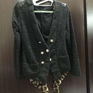 全新豹紋小外套