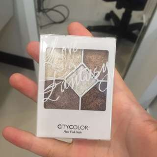 City Color 大地色系 眼影 盤 Mit