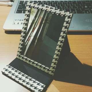 NaRaYa 千鳥格紋立鏡
