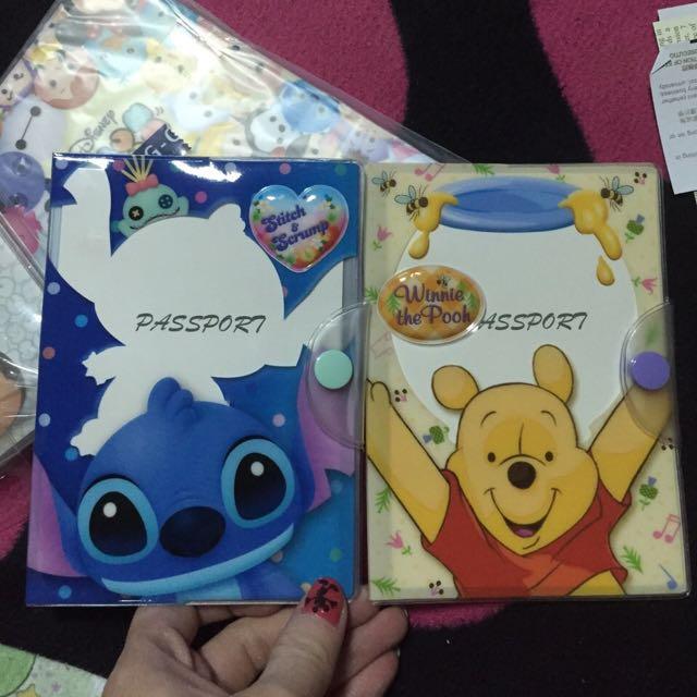 迪士尼小熊維尼護照套