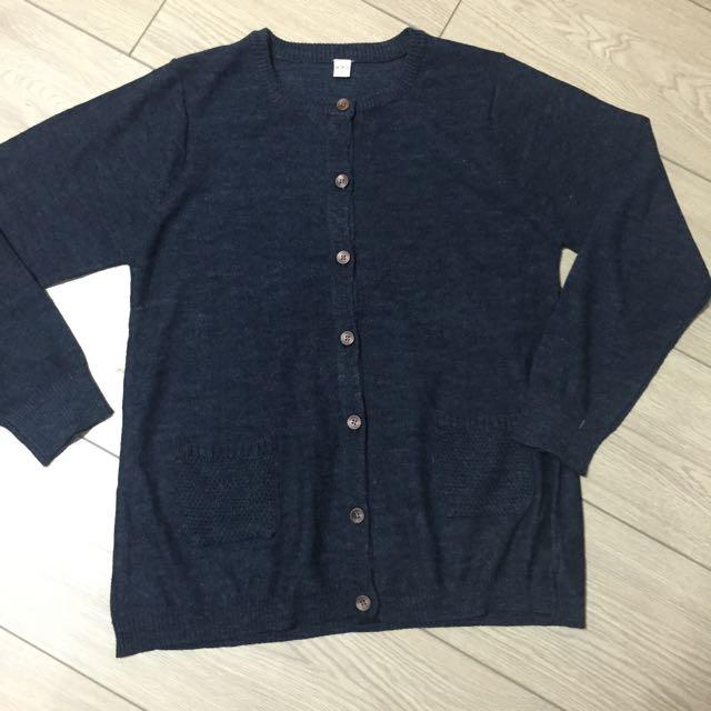 日系森林系針織外套
