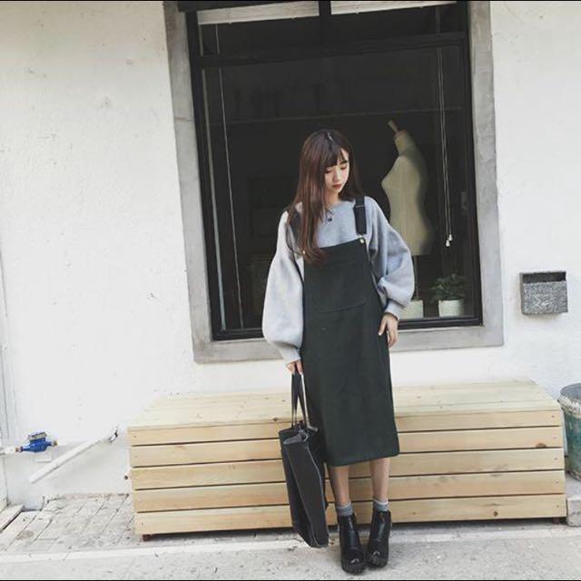 預購|顯瘦吊帶連衣裙