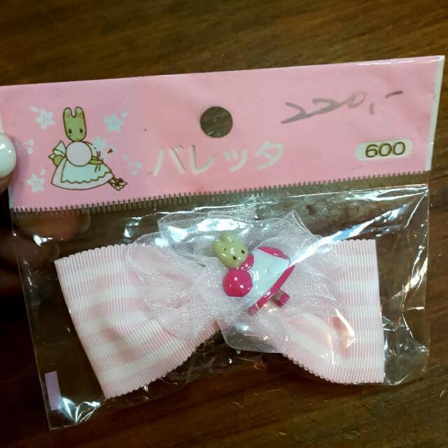 (全新)日本小女孩彈力夾