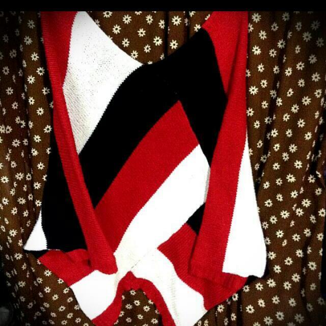 針織長版上衣