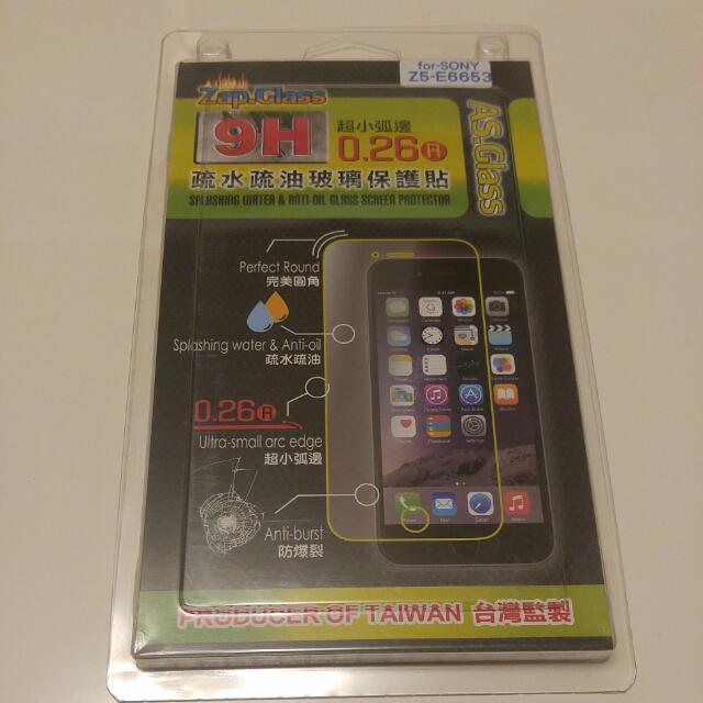 【全新】SONT-Z5 9H疏水疏油玻璃保護貼