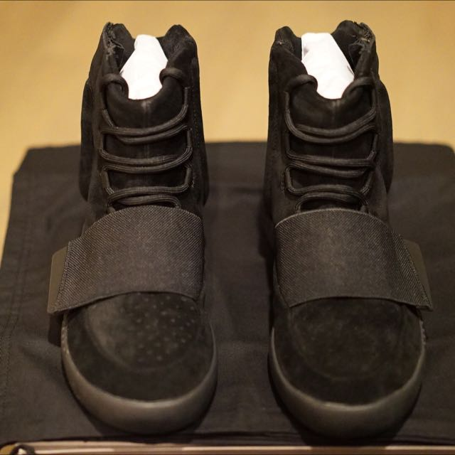 11e0c337d6987 Adidas Kanye West Yeezy Boost 750 Black New Original Boxed And ...