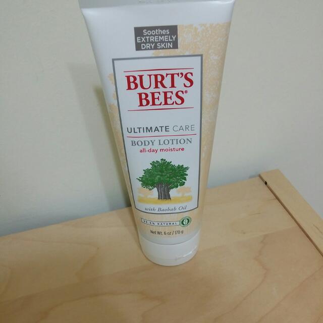 BURT'S BEES生命樹超飽水潤膚乳
