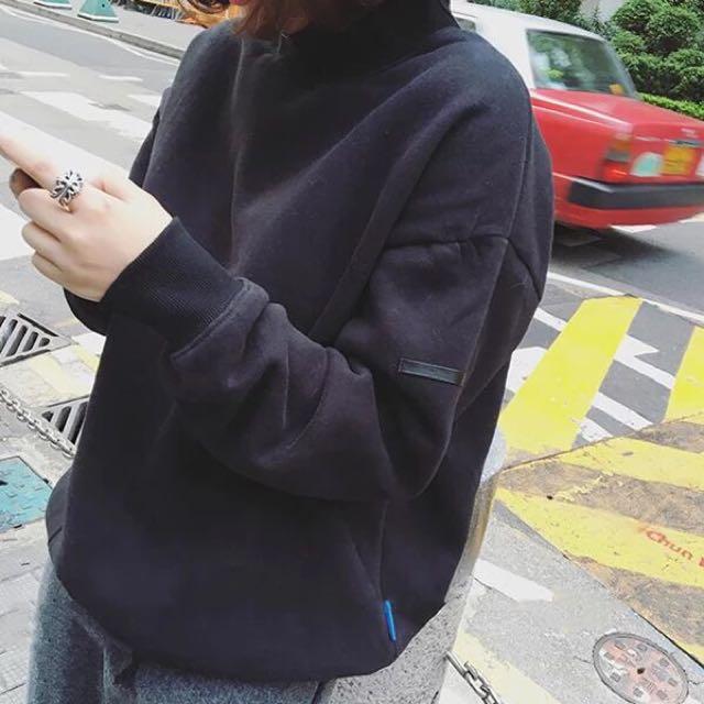 |daydream|純色加絨衛衣/2色(B0034)