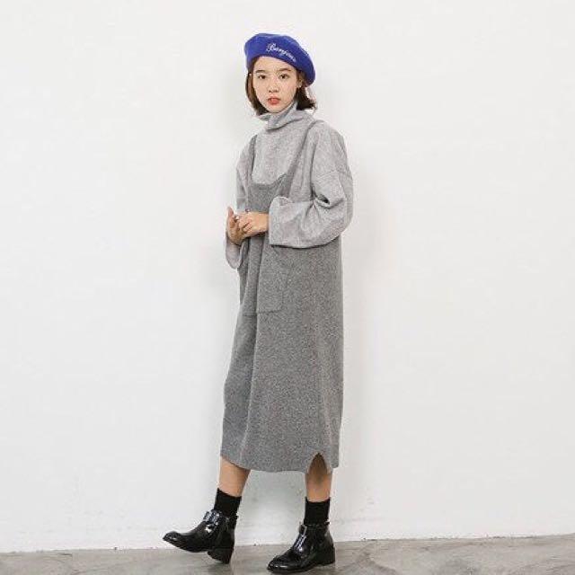 |daydream|針織背心裙/2色(D0010)