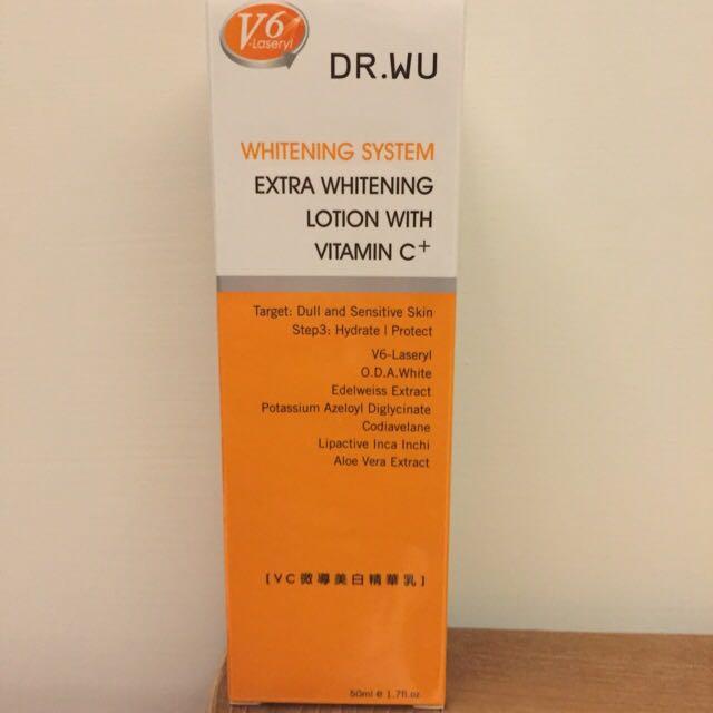 Dr. Wu VC微導美白精華乳(含運)#2016vday