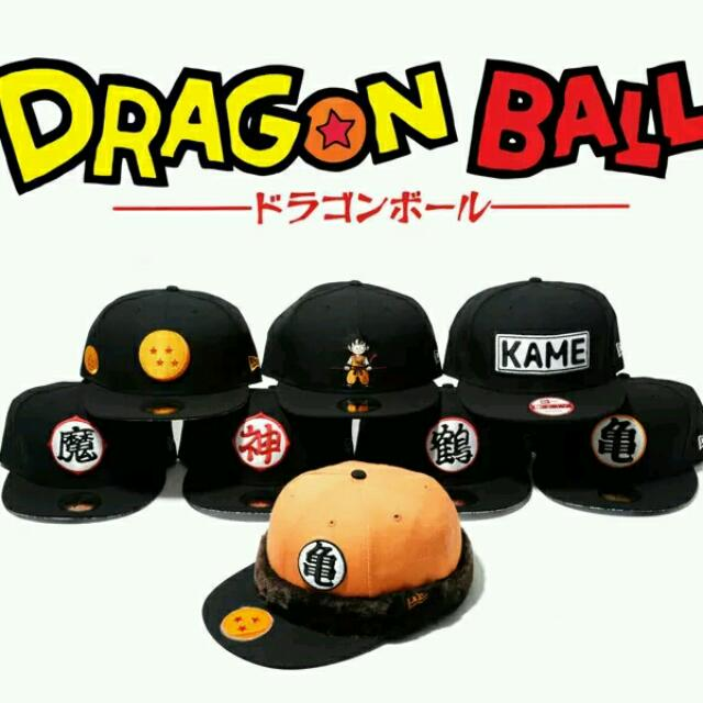 Dragon Ball Z Limited Edition New Era Caps. bd3dcab2435