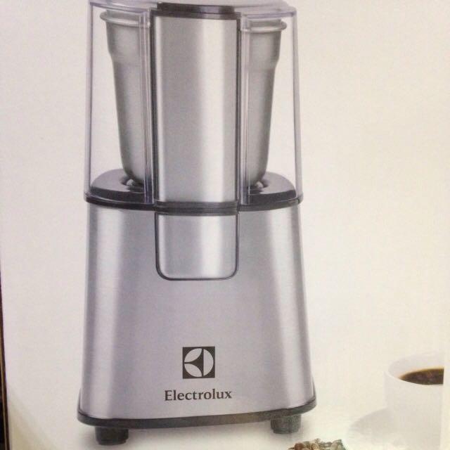 伊萊克斯Electrolux 不鏽鋼咖啡 電動磨豆機 ECG3003S 全新