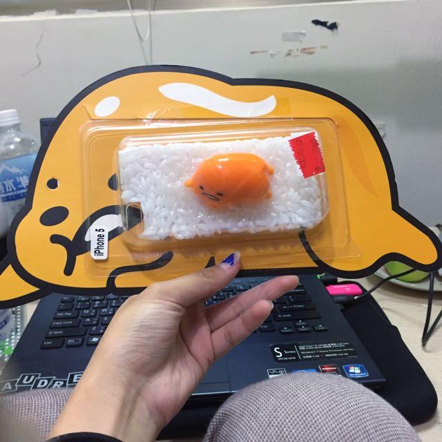 蛋黃哥iphone5/5s手機殼