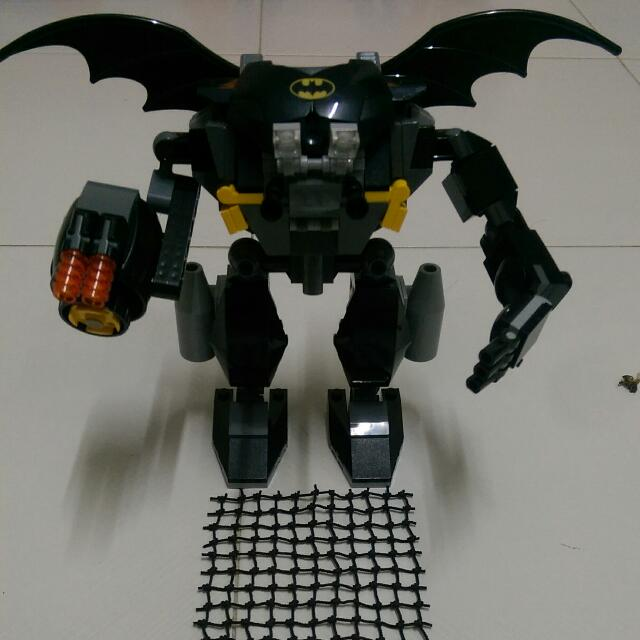 lego mech armor instructions