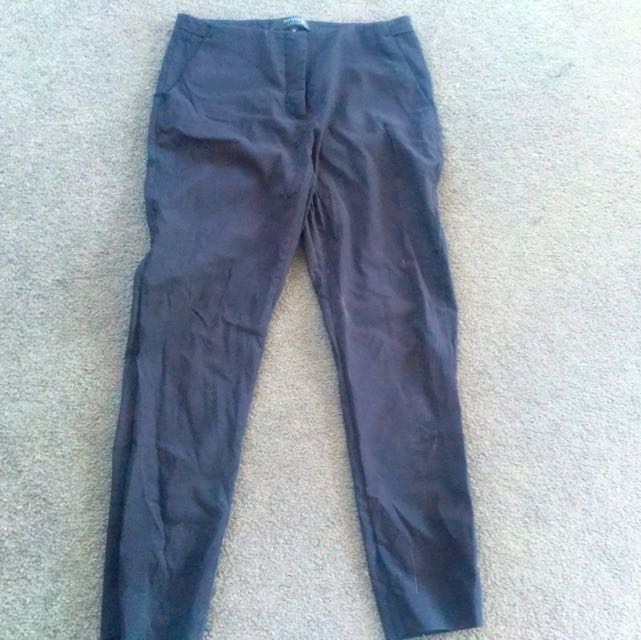 Portmans Status Black Work Pants