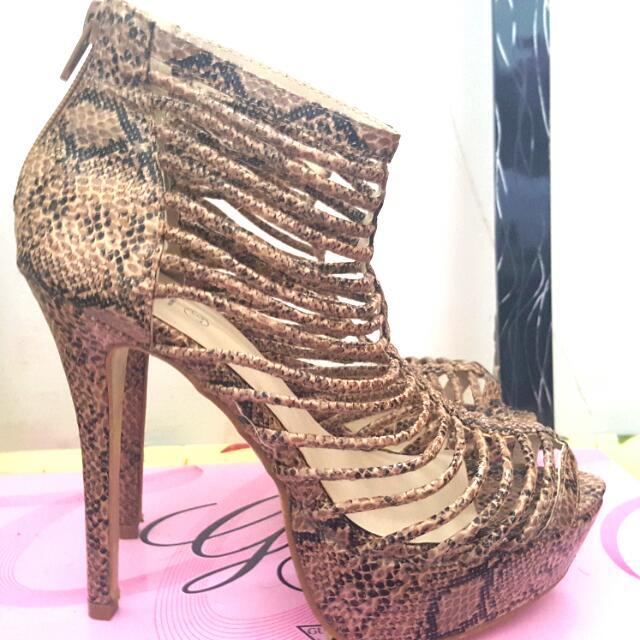 Rubi Leopard Heels