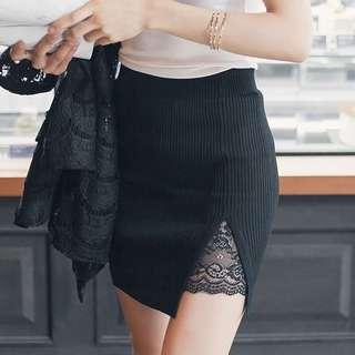 [Pre-order]Elegant Black Skirt