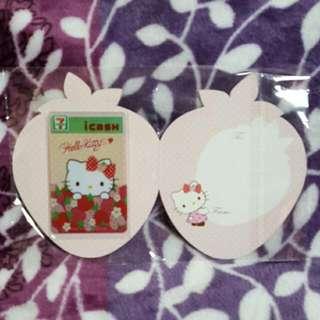 Hello Kitty 草莓季 i cash 卡