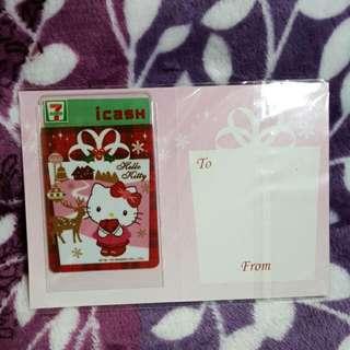 Hello Kitty 聖誕 i cash 卡