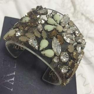 JCREW Statement Crystal Bracelet