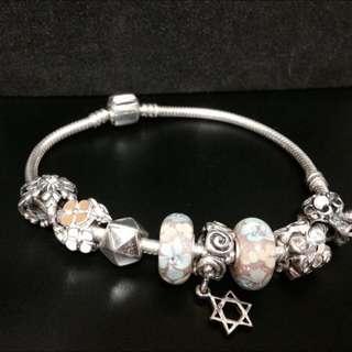 純銀手鍊珠 正925純銀 /非 Pandora潘朵拉專櫃貨造型 璀璨手鍊美少女戰士轉蛋