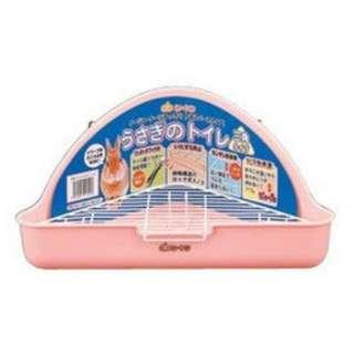 GEX 三角兔子便盆 粉紅色 兔便盆 兔廁所