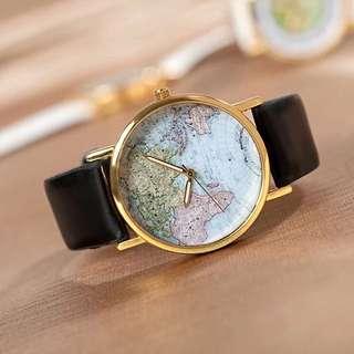 質感地圖手錶