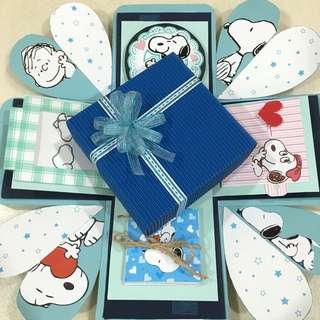 史努比禮物盒
