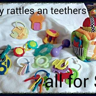 Baby Rattles An Teethers