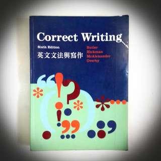 Correct Writing Sixth Edition