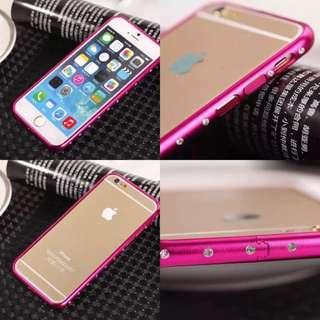 Iphone6 Plus 5.5 水鑽 邊框