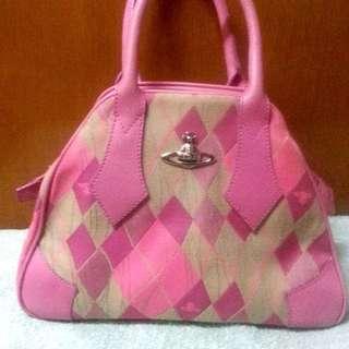 Pink Vivienne Westwood Hand Bag