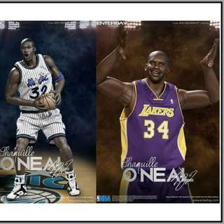 5d6aa2924d15 Enterbay NBA 1 6 Scale - Shaquille O neal Duo Body Pack.