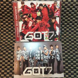 日版初回A-GOT7-Around The World-CD&DVD