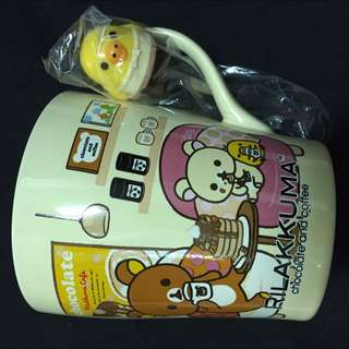 全新 懶懶熊🐻 rilakkuma 馬克杯 杯子