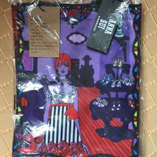 Starbucks + Anna Sui Collaboration Water Resistant Bag