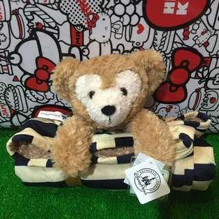 香港迪士尼Duffy達菲毛毯