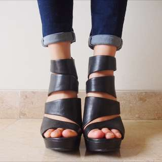 Aldo Wedge Heeled Sandals