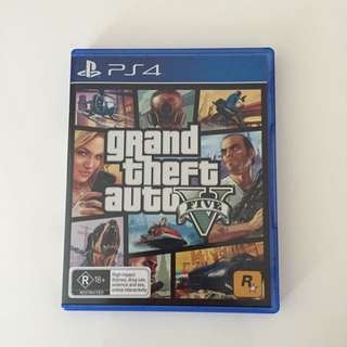 *PS4* Grand Theft Auto Five (NEGOTIABLE)