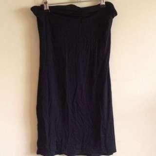 Boohoo Strapless Slip Dress