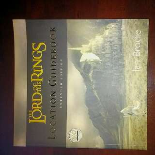 Lord Of The Rings Location Guide Book