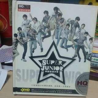 Super Junior CD三張