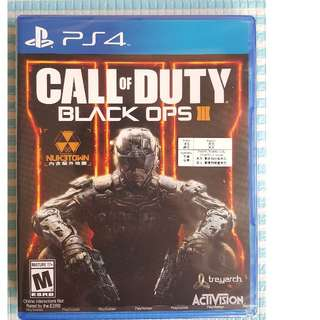 Brand new PS4 Call of Duty Black Ops 3 (COD)
