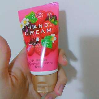 莓果香味護手霜