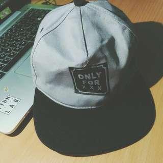 百搭嘻哈棒球帽/鴨舌帽(灰)
