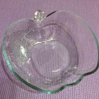 🍎蘋果造型水晶碗