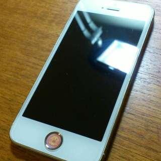 (1/18暫約面交)iPhone5s 32g已越獄 金色
