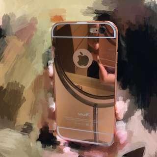 (實拍圖)✨iPhone電鍍鏡面後蓋手機殼✨(4.7/5.5吋)(3色可選